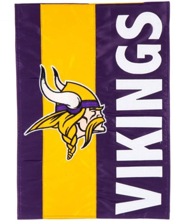 Evergreen Minnesota Vikings Embellish Garden Flag product image