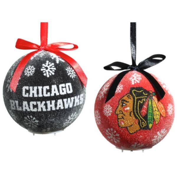 Evergreen Enterprises Chicago Blackhawks LED Ornament Set product image