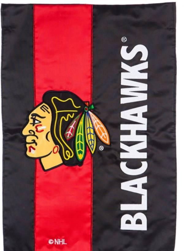Evergreen Chicago Blackhawks Embellish Garden Flag product image