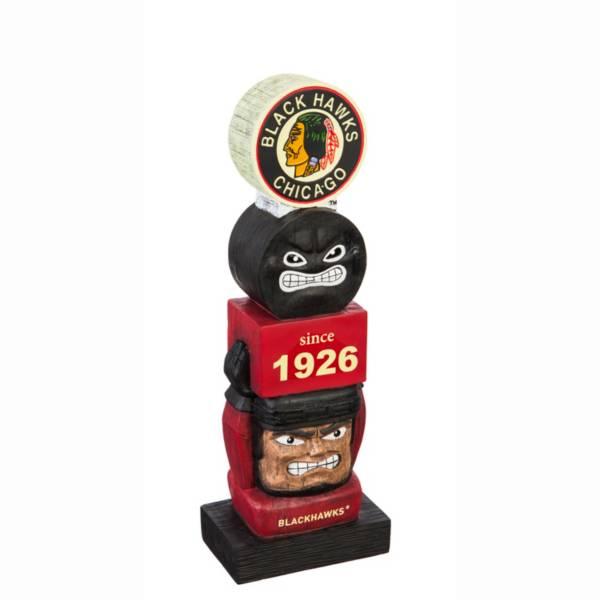 Evergreen Chicago Blackhawks Vintage Tiki Totem product image