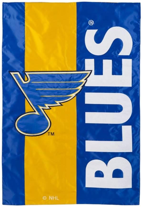 Evergreen St. Louis Blues Embellish Garden Flag product image