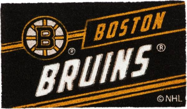 Evergreen Boston Bruins Coir Punch Mat product image