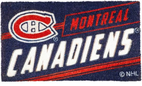 Evergreen Montreal Canadiens Coir Punch Mat product image