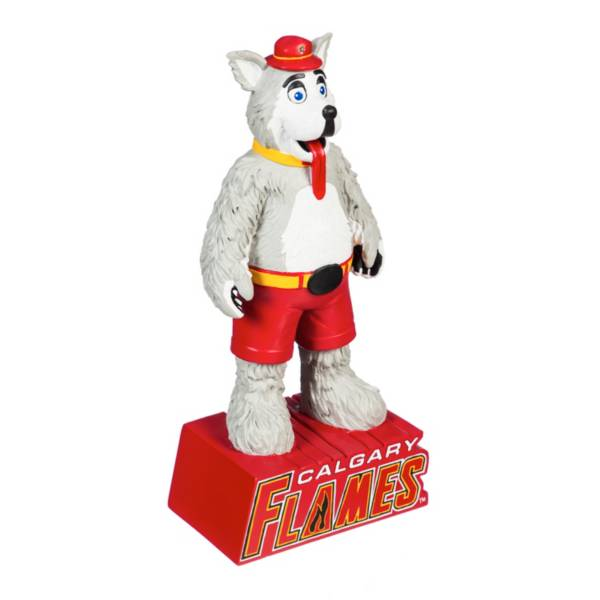 Evergreen Calgary Flames Mascot Statue product image