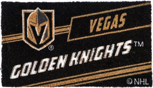 Evergreen Vegas Golden Knights Coir Punch Mat product image