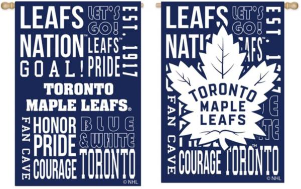 Evergreen Toronto Maple Leafs Fan Rule House Flag product image