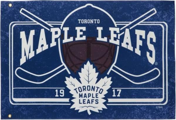 Evergreen Toronto Maple Leafs Linen Estate Flag product image