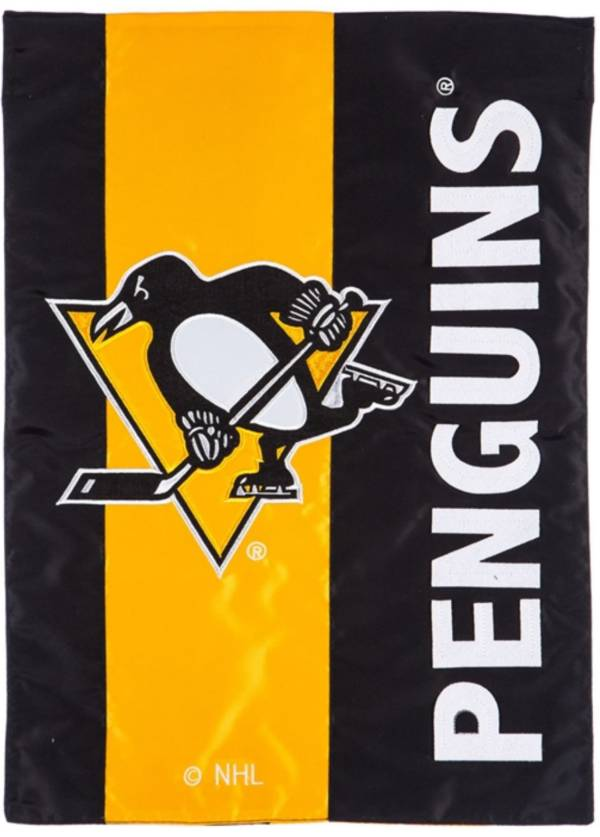 Evergreen Pittsburgh Penguins Embellish Garden Flag product image