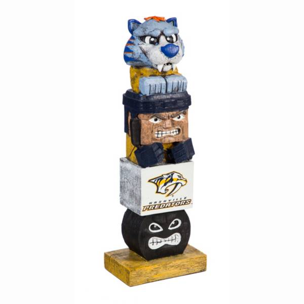 Evergreen Nashville Predators Tiki Totem product image
