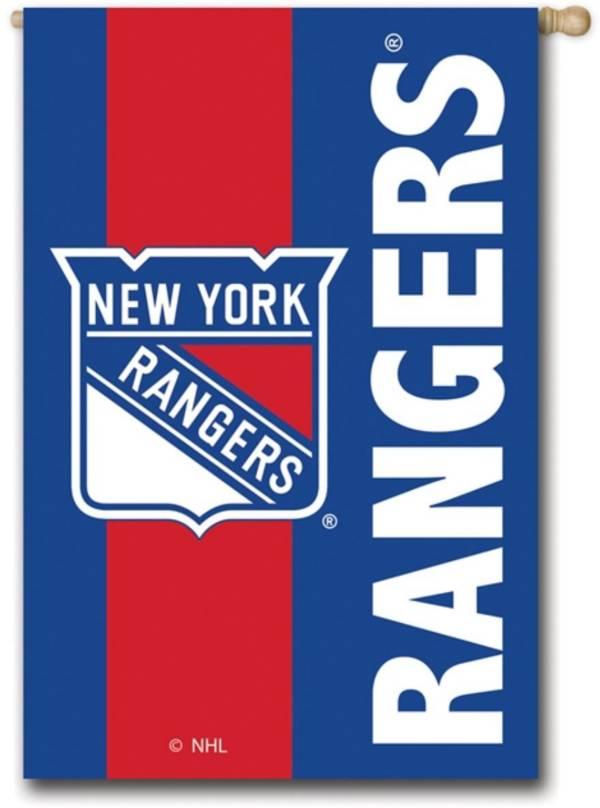 Evergreen New York Rangers Embellish House Flag product image