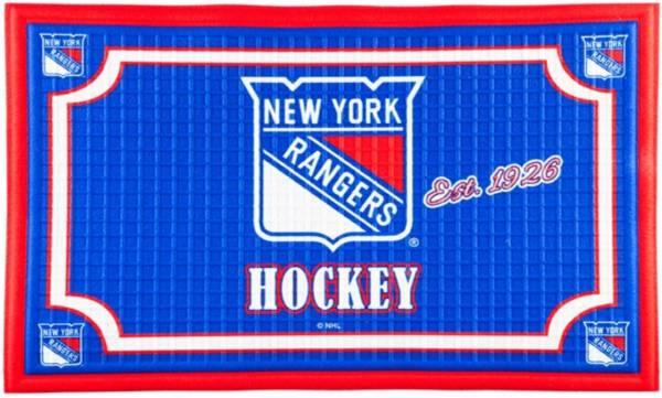 Evergreen New York Rangers Embossed Door Mat product image