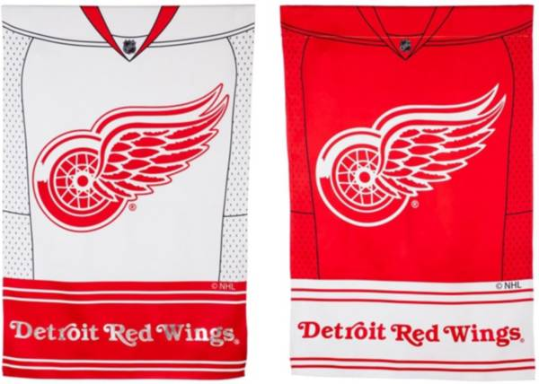 Evergreen Detroit Red Wings Jersey House Flag product image