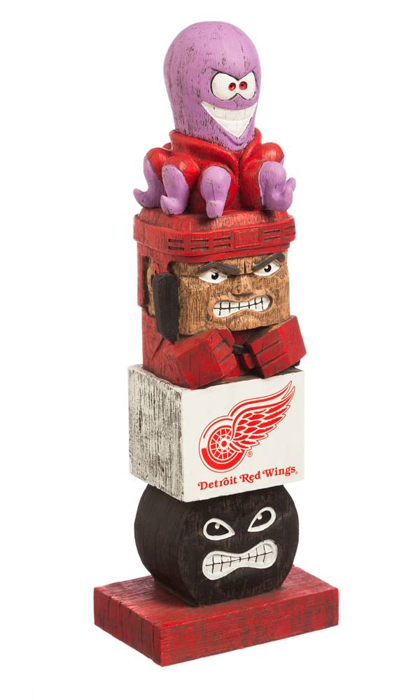 Evergreen Detroit Red Wings Tiki Totem product image