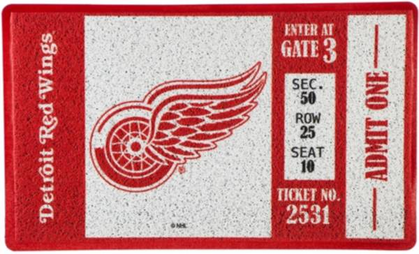 Evergreen Detroit Red Wings Turf Mat product image