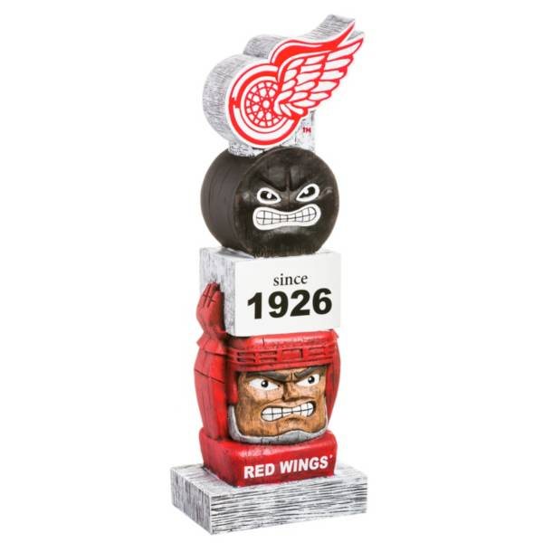 Evergreen Detroit Red Wings Vintage Tiki Totem product image