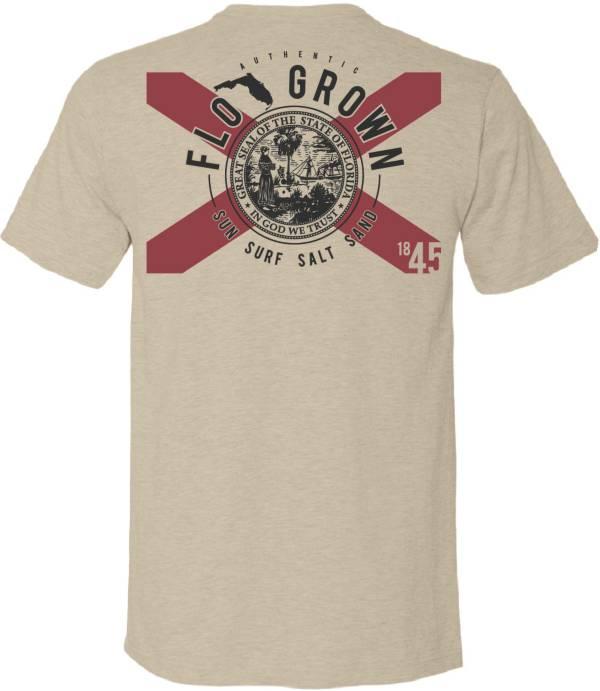 FloGrown Men's Circle Arch Flag T-Shirt product image