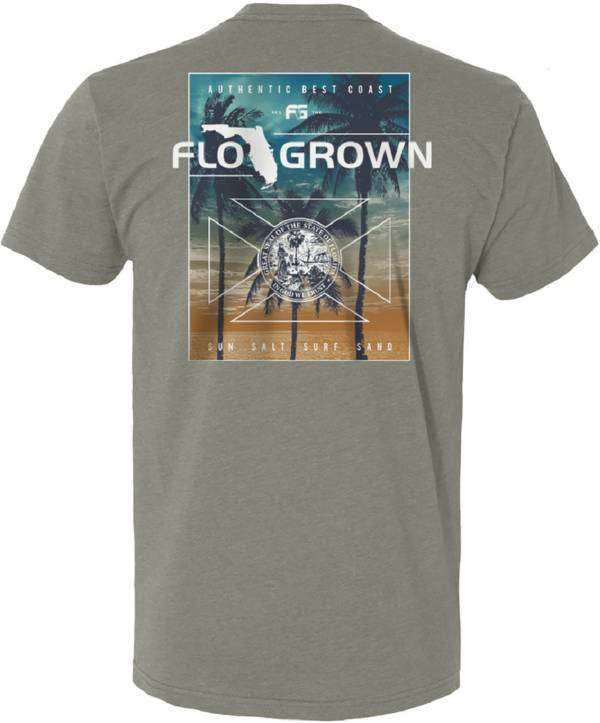 FloGrown Men's Faded Palms T-Shirt product image