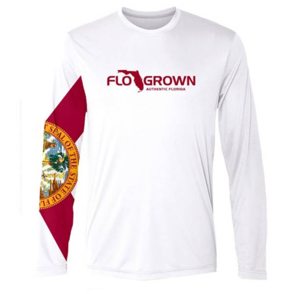 Flogrown Men's Flag Sleeve Performance Long Sleeve T-Shirt product image