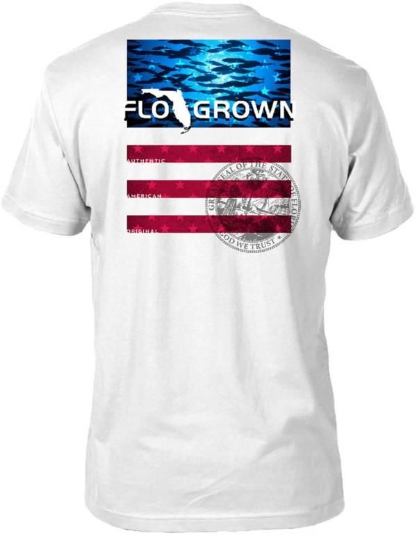 FloGrown Men's Fish School USA T-Shirt product image