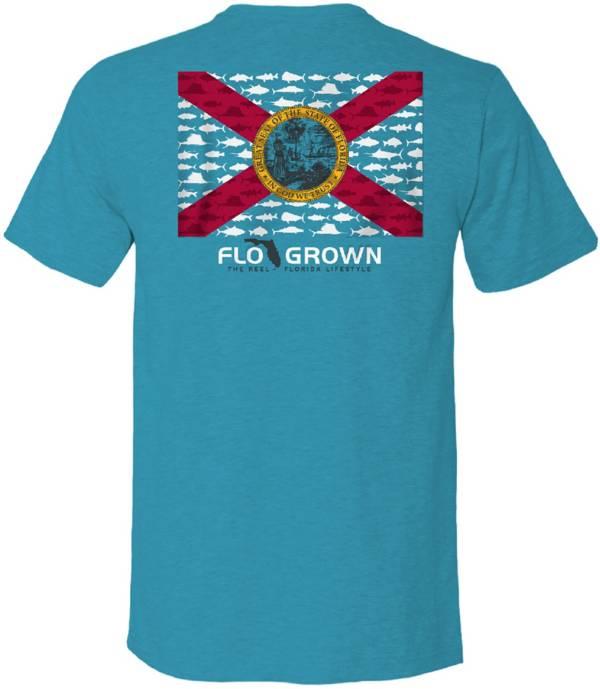 FloGrown Men's Multi Fish Flag Graphic T-Shirt product image
