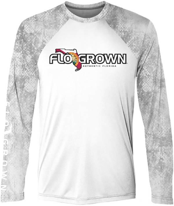 FloGrown Men's Raglan Scales Performance Long Sleeve T-Shirt product image