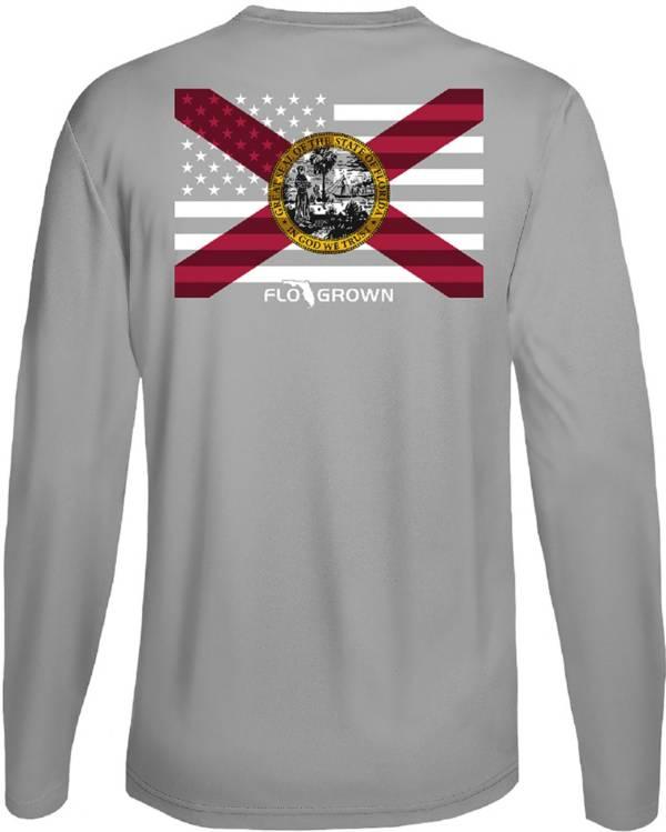 Flogrown Men's Florida Flag Long Sleeve T-Shirt product image