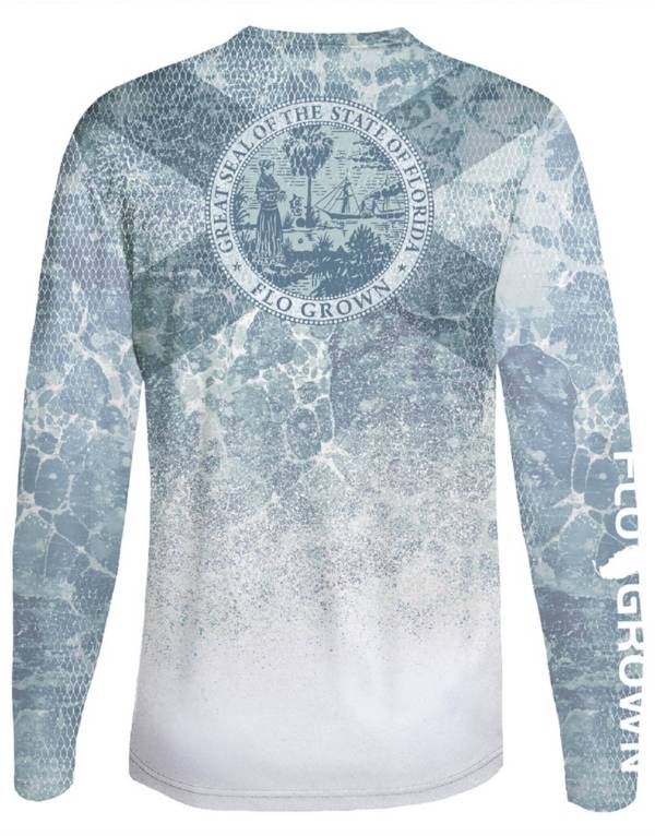 FloGrown Men's Tuna Scales Performance Long Sleeve T-Shirt product image