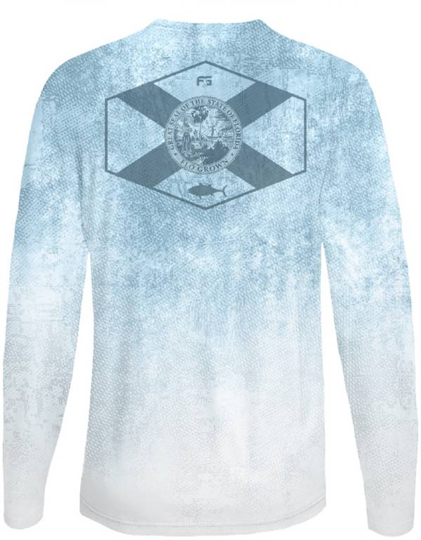 Flogrown Men's Tuna Scales Long Sleeve T-Shirt product image
