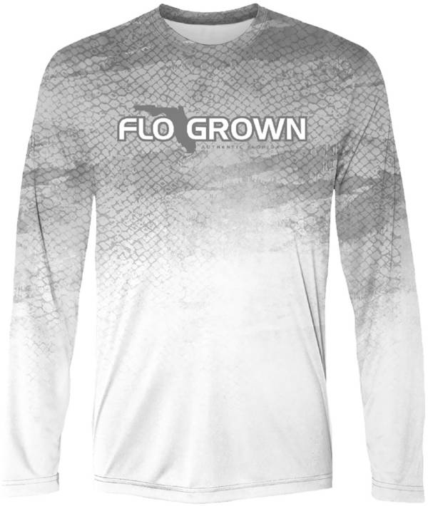 FloGrown Men's Overprint Flag Performance Long Sleeve T-Shirt product image