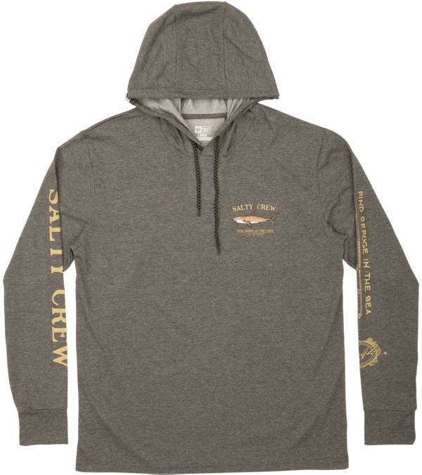 Salty Crew Men's Bruce Hood Tech Long Sleeve T-Shirt product image