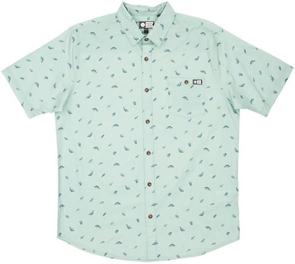 Salty Crew Men's Bay Bass Woven Short Sleeve Shirt product image