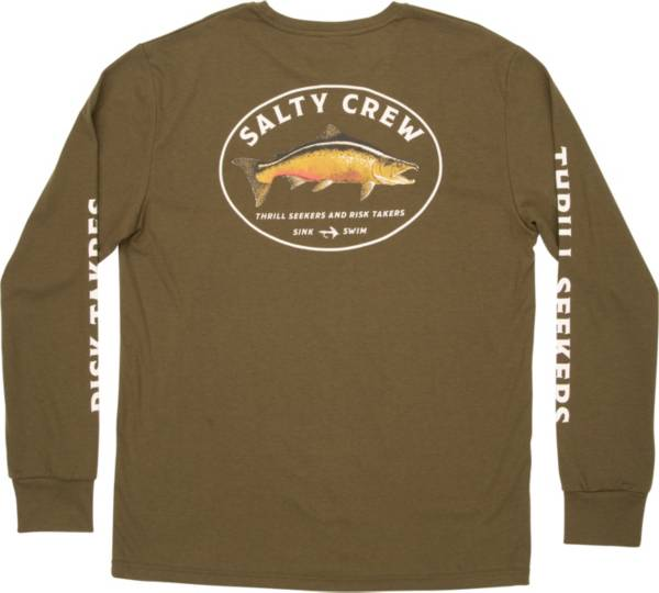 Salty Crew Men's King Sal Tech Long Sleeve T-Shirt product image