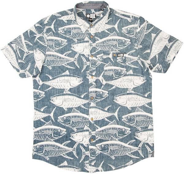 Salty Crew Longline Woven Short Sleeve Shirt product image