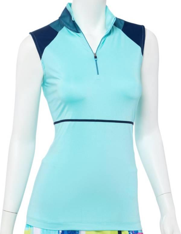 EP Pro Women's Mock Neck Sleeveless Golf Polo product image