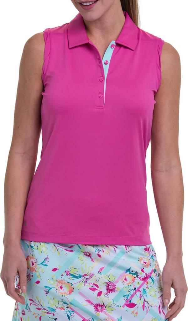 EPNY Women's Mock Neck Sleeveless Golf Polo product image