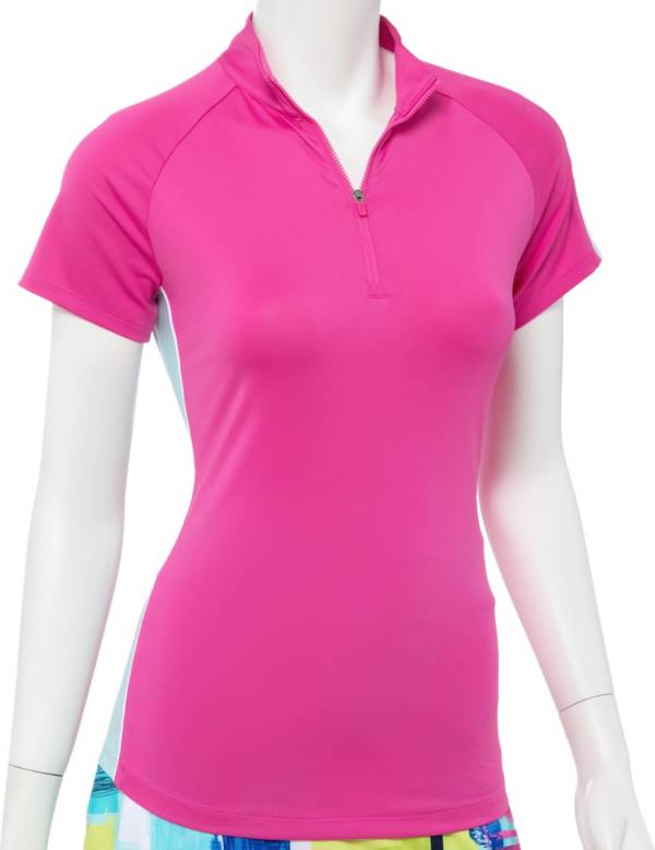 EP Pro Women's Watercolor Long Sleeve Golf Polo product image