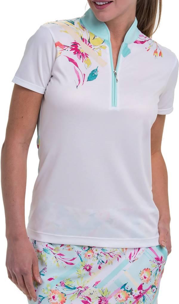 EP Pro Women's Mock Neck Golf Polo product image