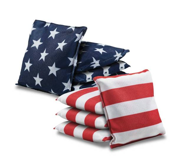 Rec League Stars and Stripes Regulation Cornhole Bags 8 Pack product image