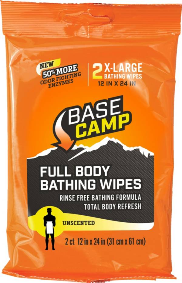 BaseCamp Full Body Bathing Wipes 2-Ct. product image