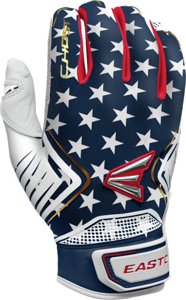 Easton Ghost Stars & Stripes Fastpitch Batting Gloves 2021 product image