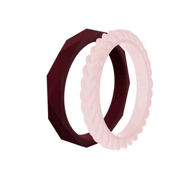 QALO Women's Stackable Silicone Ring Set product image
