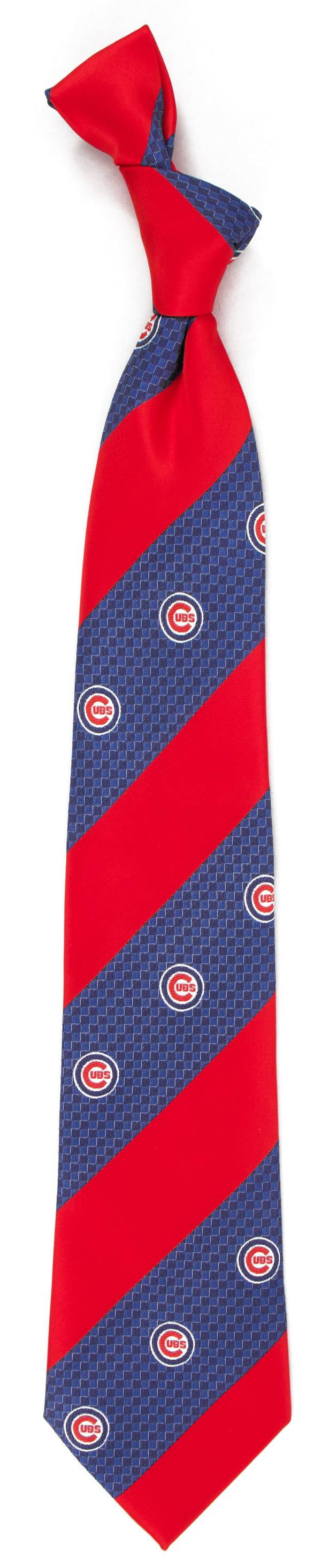 Eagles Wings Chicago Cubs Geo Stripe Necktie product image