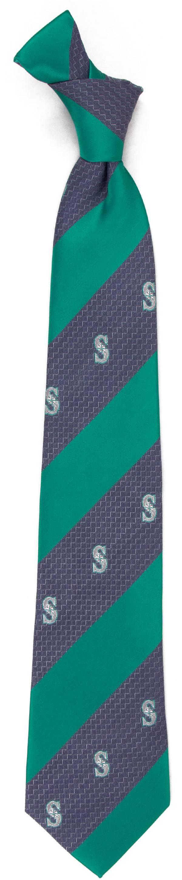 Eagles Wings Seattle Mariners Geo Stripe Necktie product image