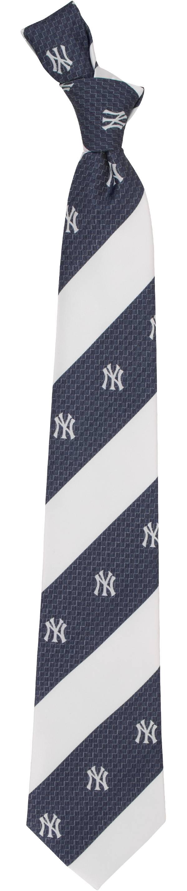 Eagles Wings New York Yankees Geo Stripe Necktie product image