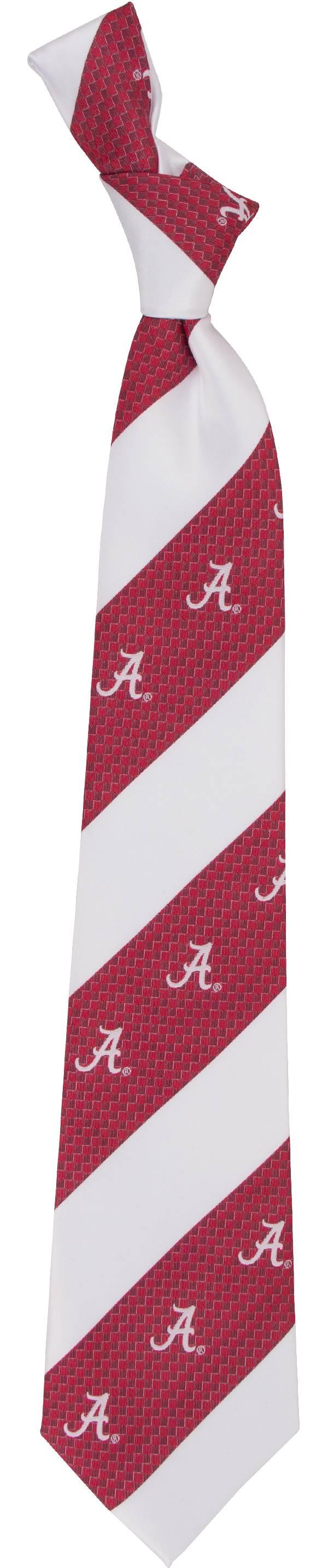 Eagles Wings Alabama Crimson Tide Geo Stripe Necktie product image