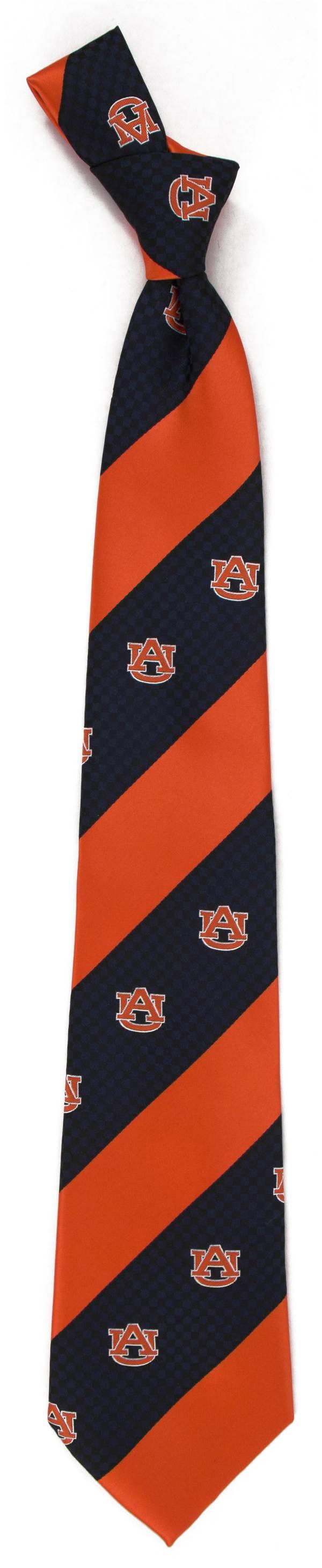 Eagles Wings Auburn Tigers Geo Stripe Necktie product image