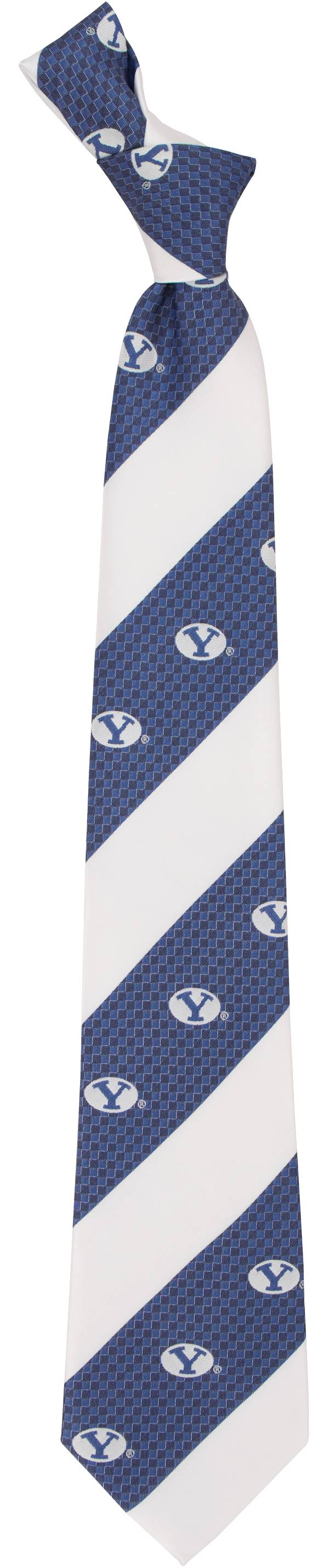 Eagles Wings BYU Cougars Geo Stripe Necktie product image