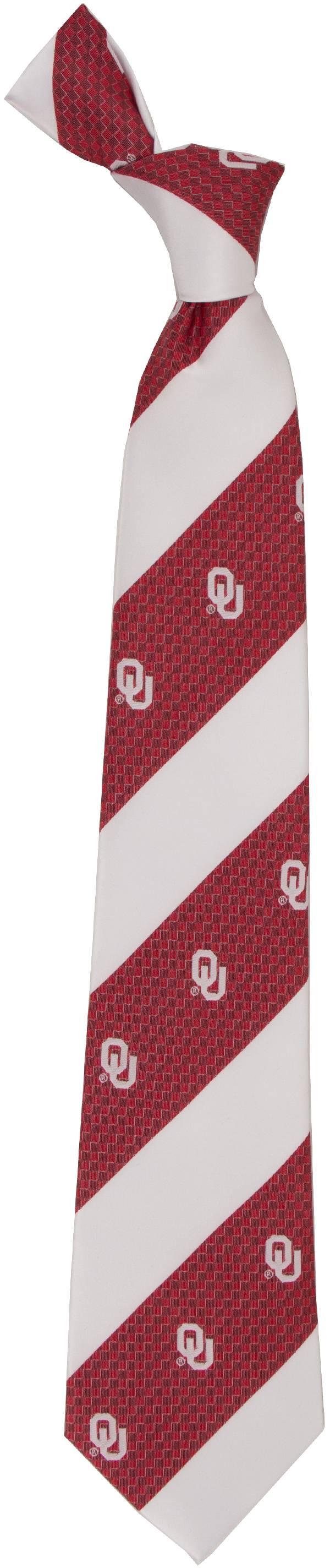 Eagles Wings Oklahoma Sooners Geo Stripe Necktie product image