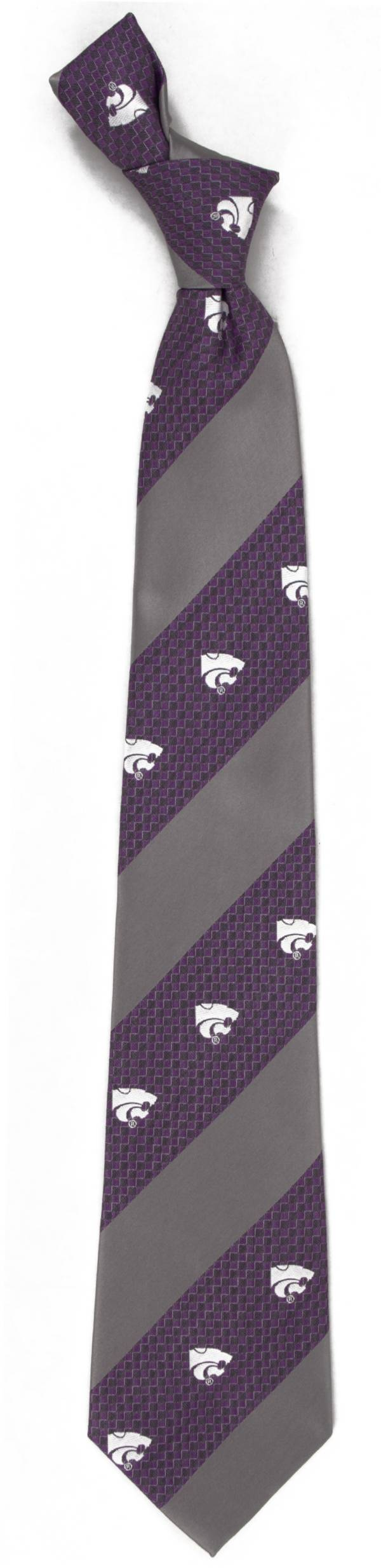 Eagles Wings Kansas State Wildcats Geo Stripe Necktie product image