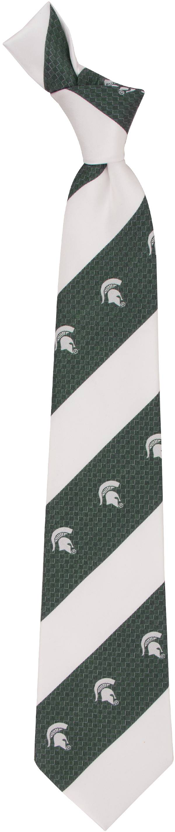 Eagles Wings Michigan State Spartans Geo Stripe Necktie product image